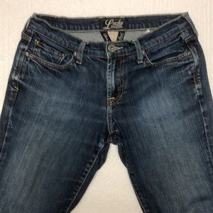 Lucky Brand women's jeans classic rider 2 26
